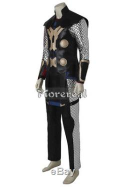 The Avengers Age of Ultron Thor Odinson Cosplay Costume Superhero Outfit Adult
