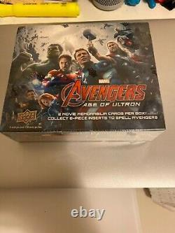 Upper Deck Marvel Avengers Age of Ultron sealed trading card box rare