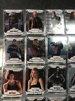 Upper Deck Marvel Black Diamond Base Card /149 LOT! 21 Different Cards! No Duoes