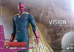 Used Toy Hot Toys 1/6 Marvel Avengers Age of Ultron MMS296 Vision Figure